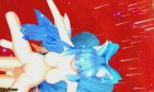 MMD Blue Multidimensionall 9 Tail Fox Girl Fucking A Futa {Lamb} R18